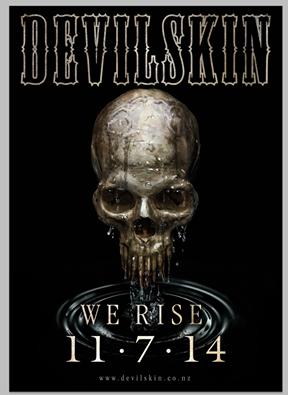 Devilskin - We Rise Poster
